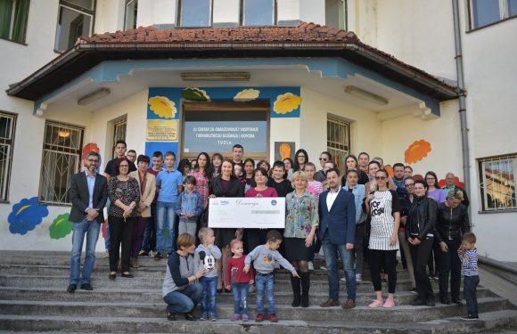 Omega d.o.o. Živinice uručila donaciju JU Centru za obrazovanje i vaspitanje i rehabilitaciju slušanja i govora Tuzla