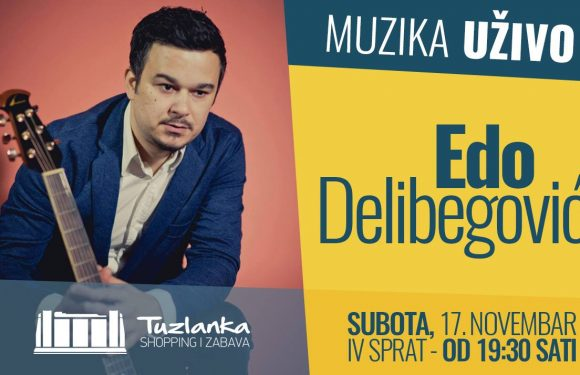 Muzika UŽIVO: Edo Delibegović