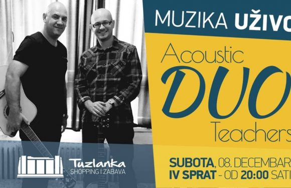MUZIKA UŽIVO: Acoustic DUO Teachers