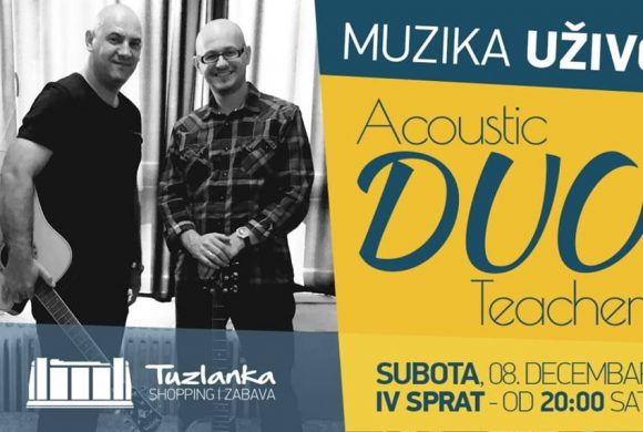 MUZIKA UŽIVO: Acoustic DUO Teachers