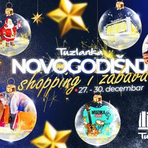 RK Tuzlanka od 27. do 30. decembra priprema nezaboravni novogodišnji shopping i zabavu