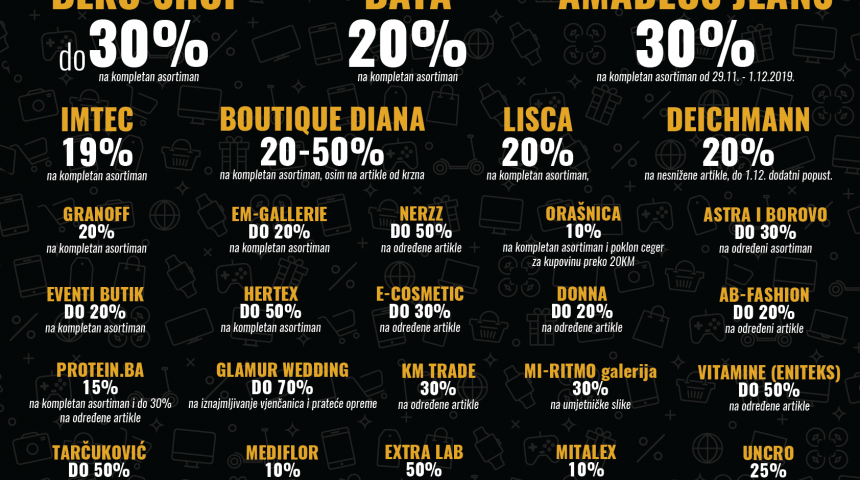 28. Novembra: Shopping u Tuzlanci