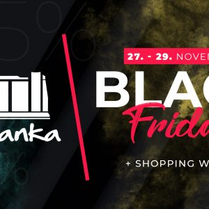 BLACK FRIDAY + shopping weekend